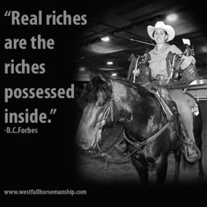 Real Riches Quote