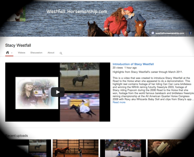 Visit Stacy Westfall on YouTube!