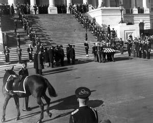 BLACK JACK, horse at JFK funeral