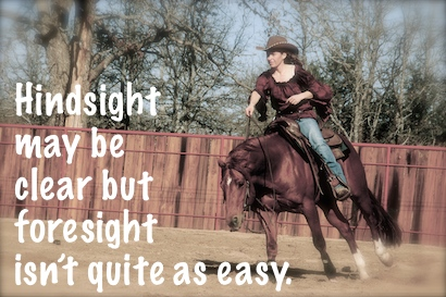 Hindsight may be clear but foresight isn't quite as easy.