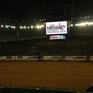 NRHA arena