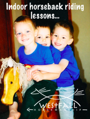 Stacy Westfall's boys riding