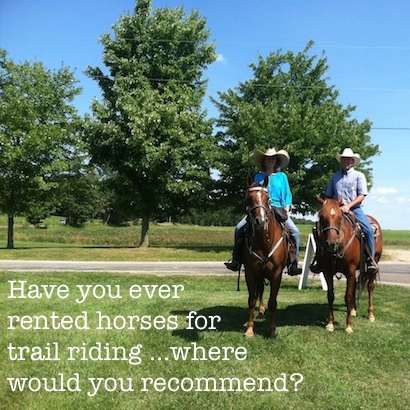 Looking for great trail riding and horses to rent...where would you recommend?
