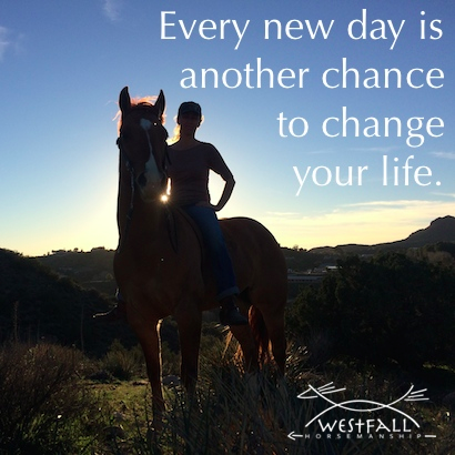 Every new day is another chance to change your life.